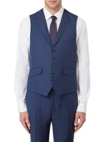 Ted Baker Canboo Sharkskin Suit Waistcoat