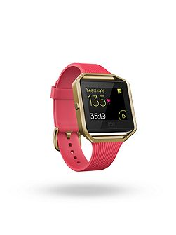 Blaze Fitness Watch, Slim Pink & Gold, Small