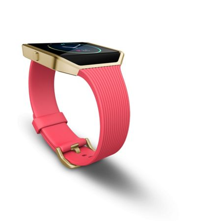 Fitbit Blaze Fitness Watch, Slim Pink & Gold, Small