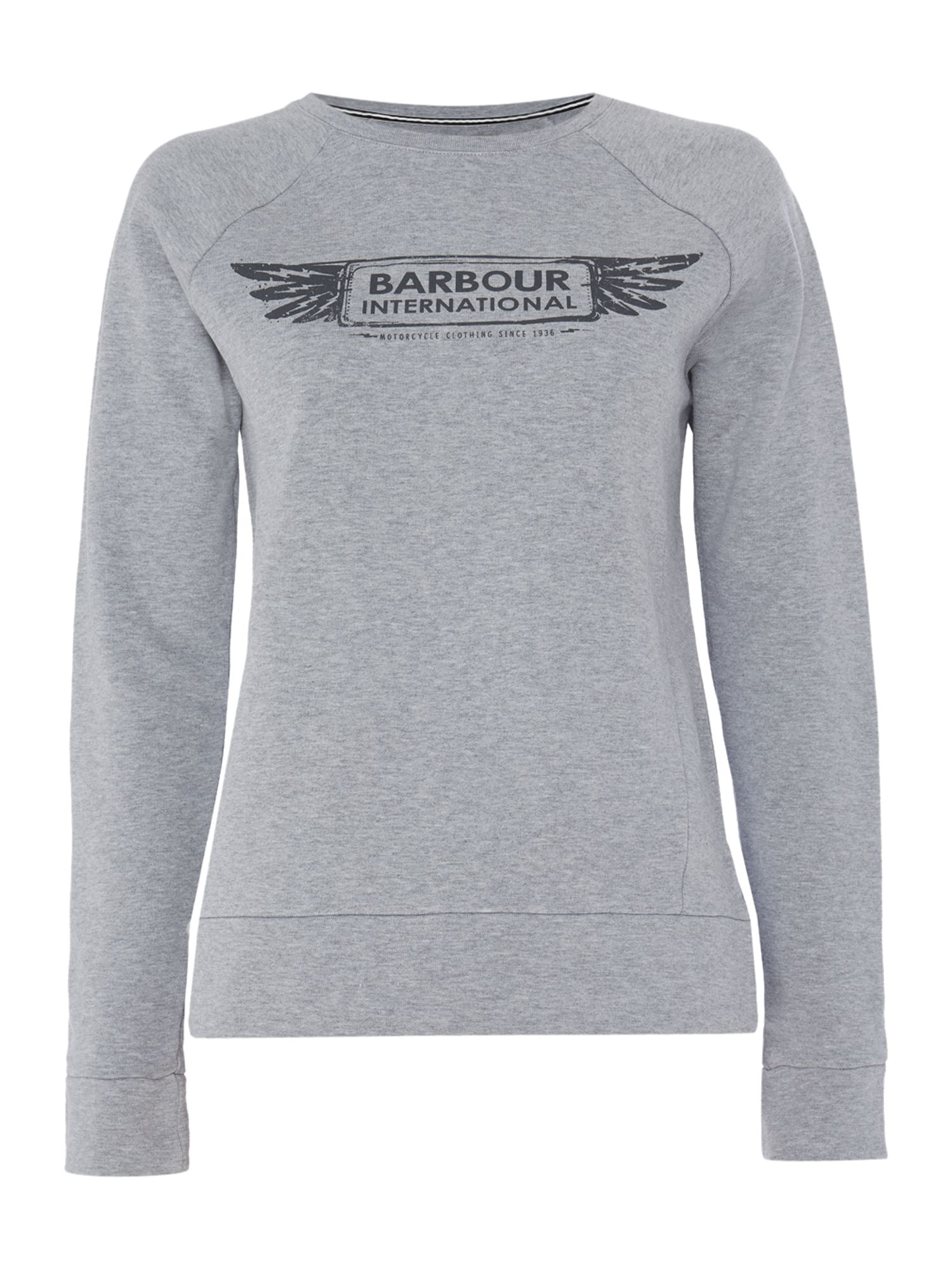 Barbour Barbour international logo sweat Grey