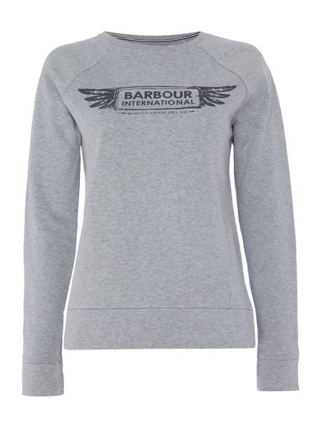 Barbour Barbour international logo sweat