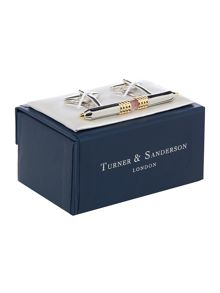 Turner & Sanderson Pencil Cufflink