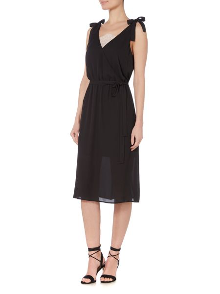 Therapy Penelope Tie Shoulder Dress