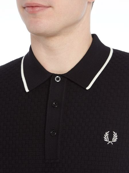 Fred Perry Checkerboard short sleeve polo