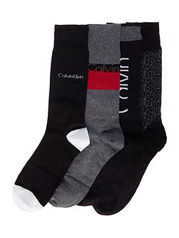 CK 4 logo sock gift set