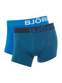 Bjorn Borg 2 Pack of Solid Trunks