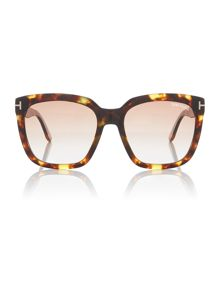 Tom Ford Sunglasses Brown FT0502 rectangle sunglasses