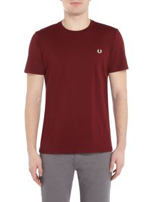 Fred Perry Crew-neck Cotton T-Shirt