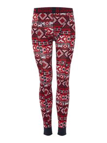 Bjorn Borg Native Knit Print Long Johns