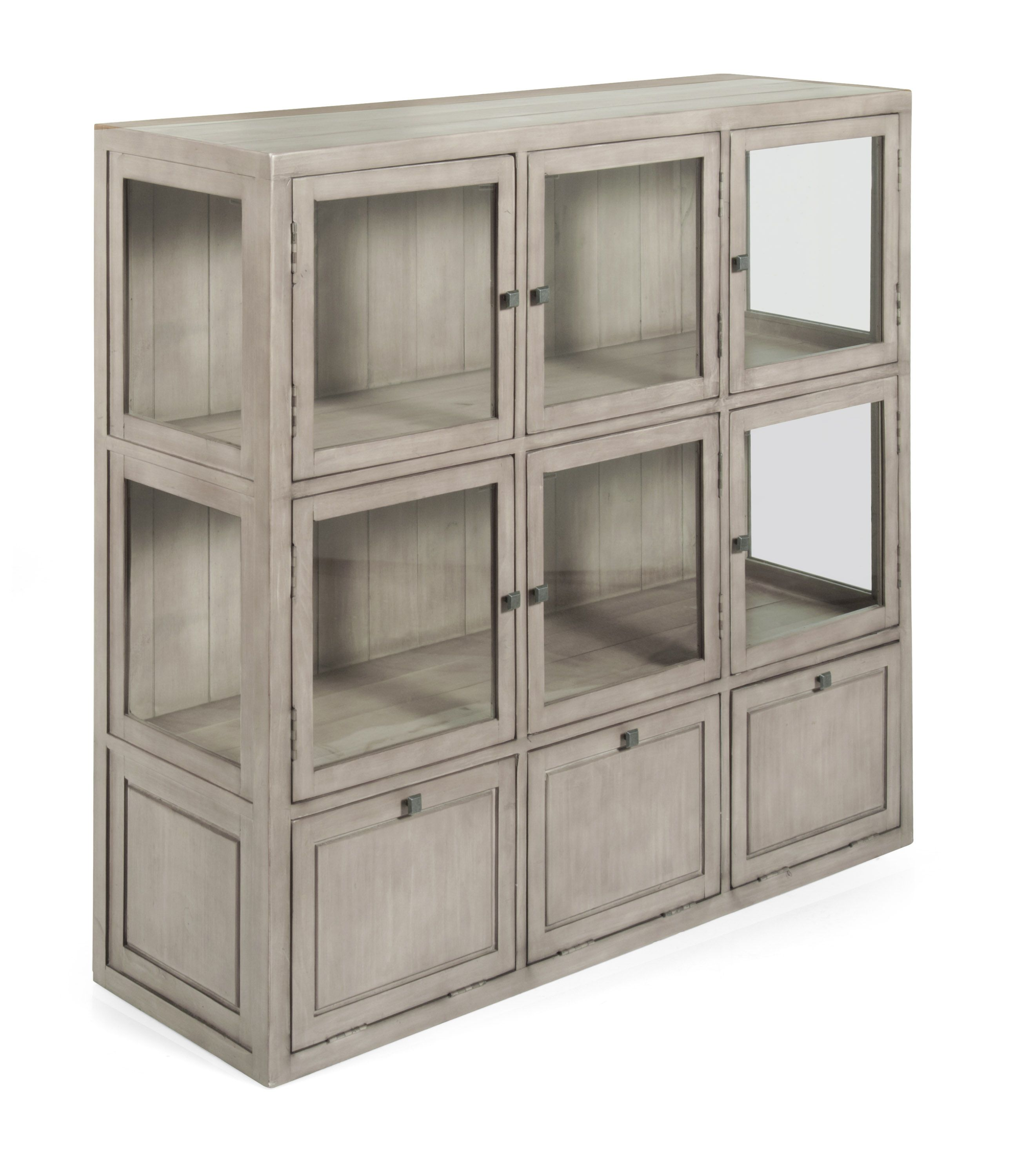 Gray & Willow Gilmore Display Cabinet Grey