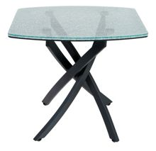 Linea Crackle Lamp Table