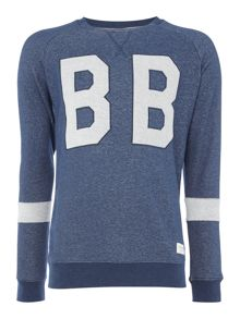 Bjorn Borg Large Logo Crew Neck Sweat