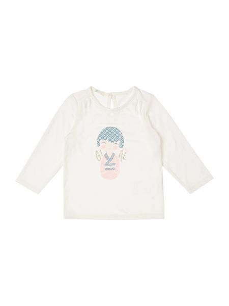 Benetton Baby Long Sleeve Graphic T-shirt