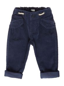 Benetton Baby Roll-up Cord Trousers