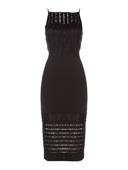 Taniti Lace Detail Dress