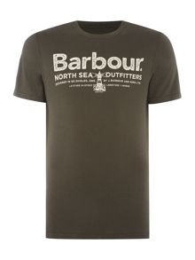 Barbour North sea out short sleeve tshirt