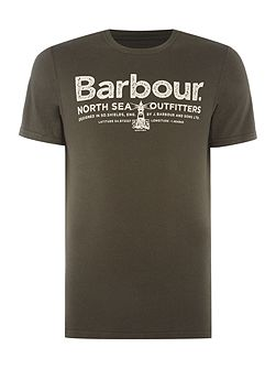 North sea out short sleeve tshirt