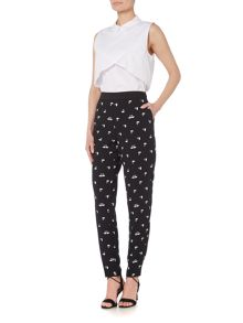 Therapy Swan Print Trouser