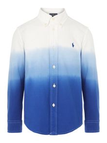 Polo Ralph Lauren Boys Ombre Long Sleeve
