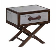 Linea Voyager Trunk Side Table