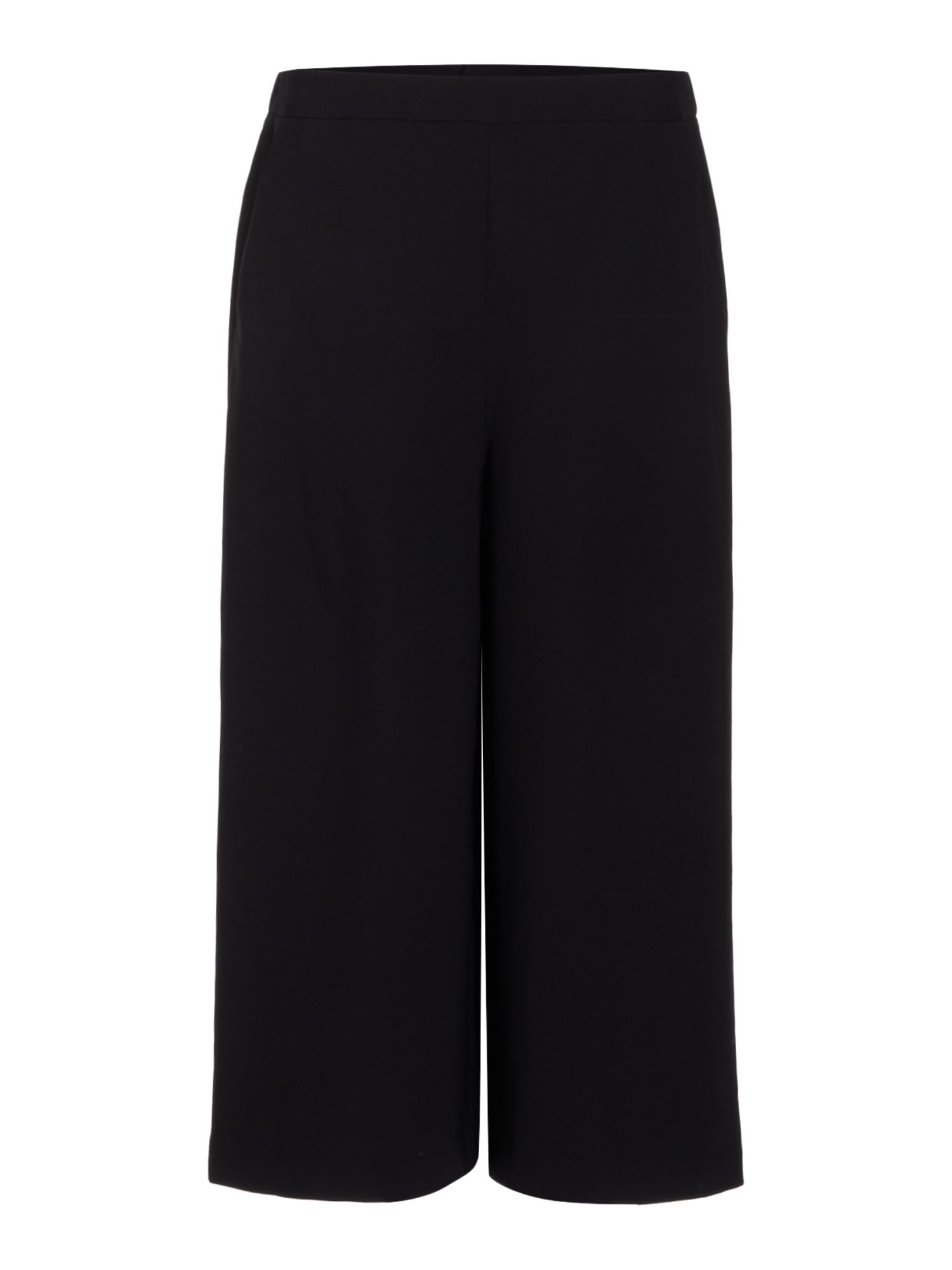 Ellen Tracy Culotte wide leg trouser, Black