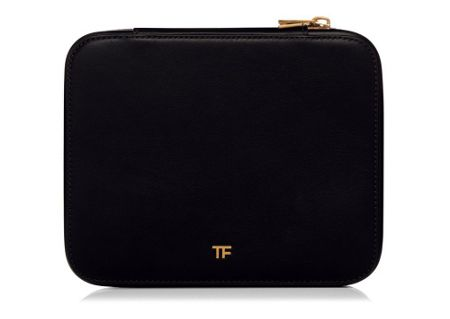 Tom Ford Leather Brush Case