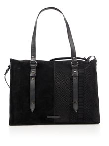 Label Lab Kora mixed leather bag