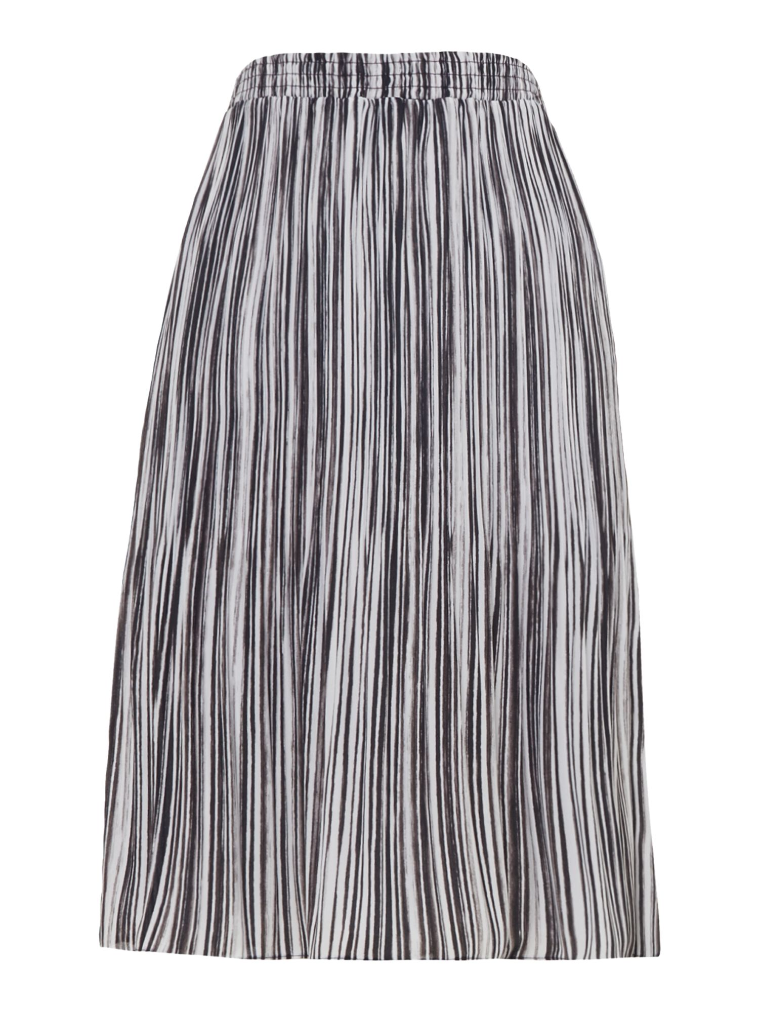 Ellen Tracy Striped skirt, Multi-Coloured