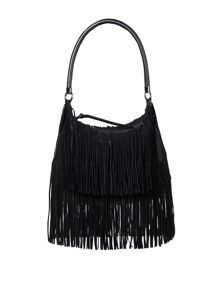 Label Lab Cleo fringe shoulder bag