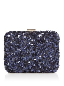 Linea Ariel box clutch bag