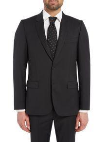 PS By Paul Smith Wool Single Breasted Slim Fit Suit Jacket