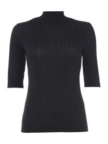 Therapy Sal Textured Rib Top