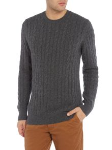 Barbour Wool cotton cable jumper