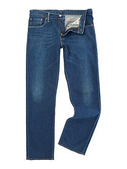 504 Glastonbury reg straight fit dark wash jeans