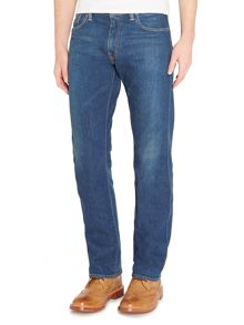 Levi's 504 Glastonbury reg straight fit dark wash jeans