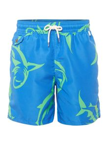 Polo Ralph Lauren Shark Print Swim Short