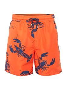 Polo Ralph Lauren Lobster Print Swim Shorts