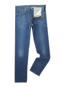 Levi's 512 Glastonbury slim tapered dark wash jeans