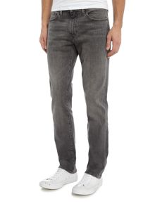 Levi's 511 Berry Hill slim fit washed black jeans