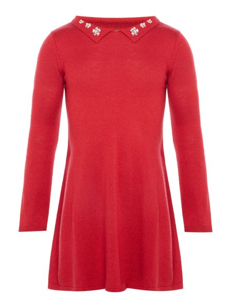 Benetton Girls Knitted Dress