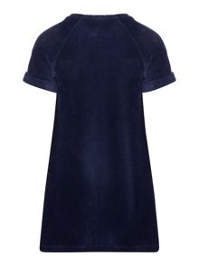 Benetton Girls Soft Textured Shift Dress