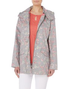 Brakeburn Bird blossom button up mac