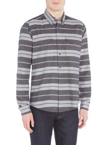 Barbour Horizontal stripe long sleeve shirt