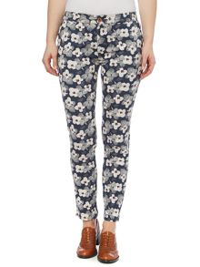 Brakeburn Spring daisy printed trousers