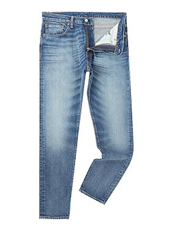 512 Charley slim tapered fit mid wash jeans
