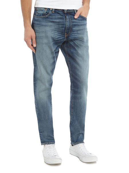 Levi's 512 Charley slim tapered fit mid wash jeans