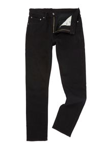 Levi's 510 Nightshine skinny fit black jeans