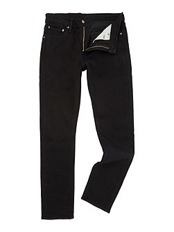 510 Nightshine skinny fit black jeans