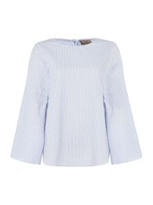 Vero Moda 3/4 length sleeve button top