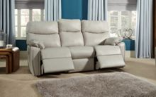G Plan Henley Leather 3 Seater Power Recliner Double
